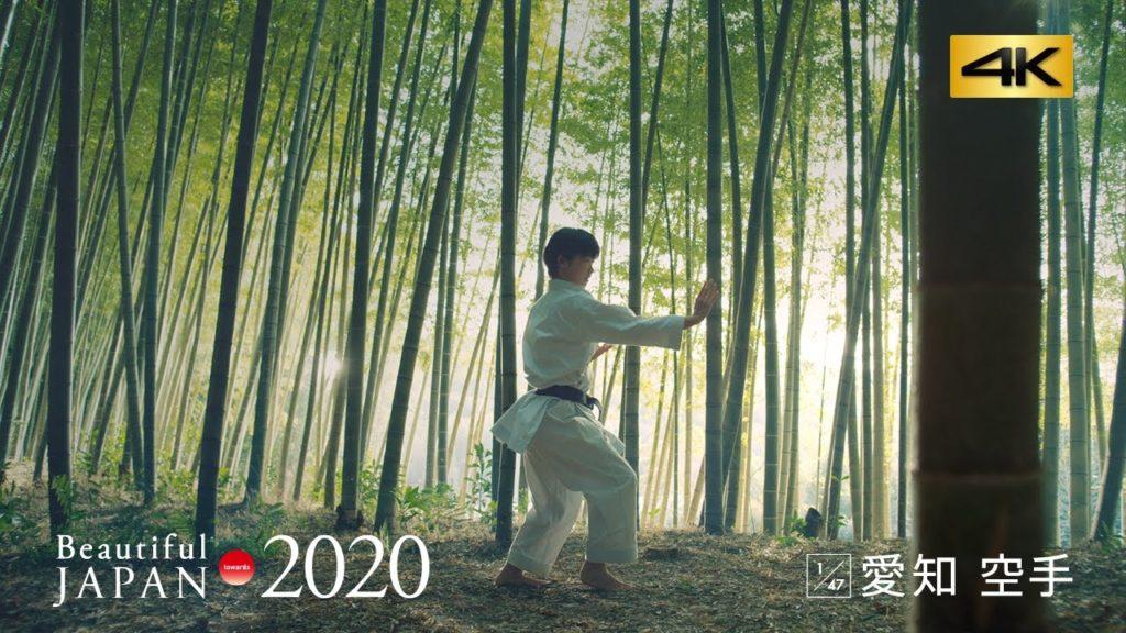 愛知・空手篇 いつか私も、人を感動させる形を打ちたい。/4K映像【パナソニック #ビューティフルジャパン 】 #BJ2020
