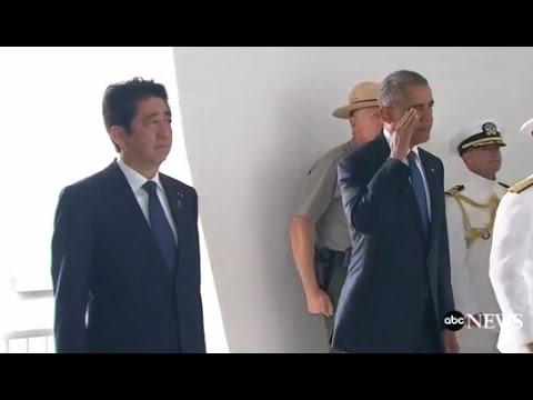 Obama, Japan PM Shinzo Abe Full Speech at Pearl Harbor | ABC News