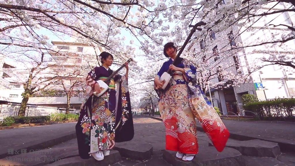 Shamisen Under The Cherry Blossoms 2017 – Ki&Ki 輝&輝 津軽三味線