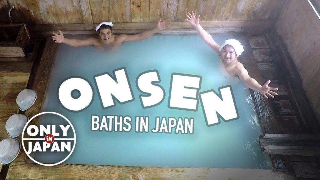 Japanese Onsen Bath Experience: Hot Spring Paradise ★ ONLY in JAPAN