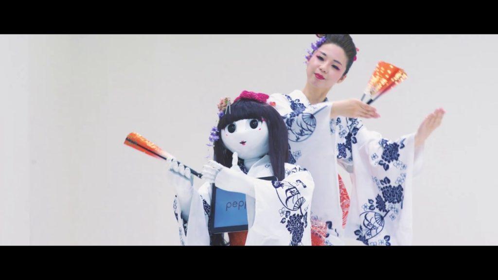 世界初!?扇子で舞う、ロボットと踊る日本舞踊の世界〜鏡花水月〜