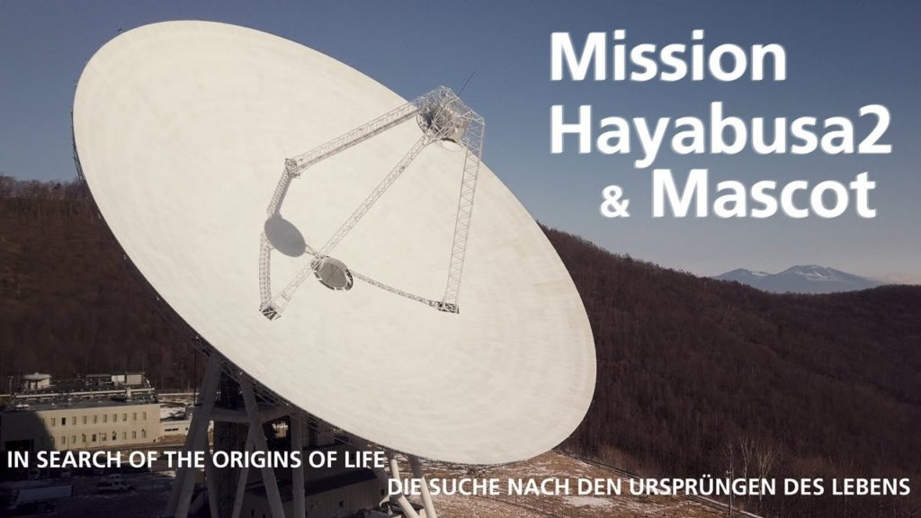 IN SEARCH OF THE ORIGINS OF LIFE  (Mission Hayabusa2 & Mascot)