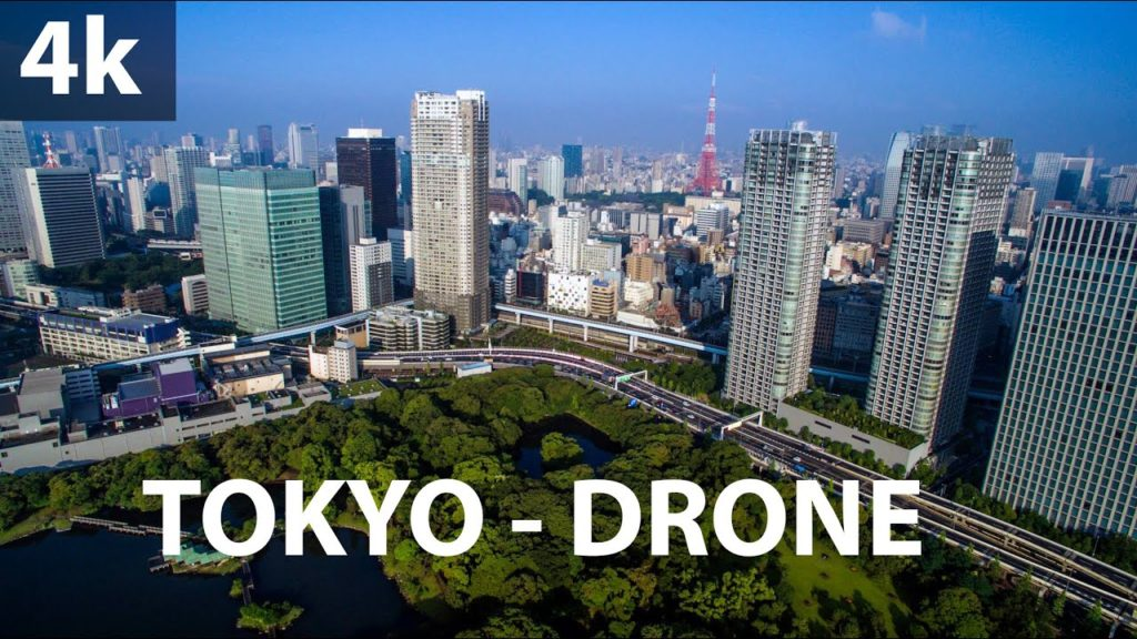 Tokyo Japan Drone