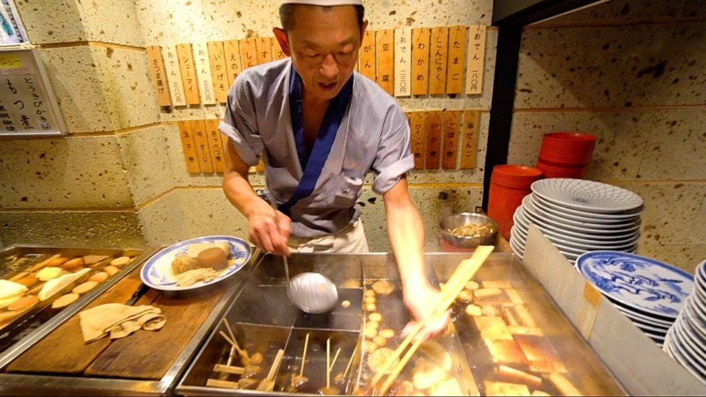 Tokyo Street Food Tour BEST Nightlife in TOKYO
