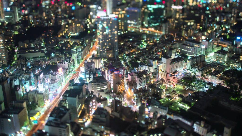 Tokyo City View Observatory Tilt Shift