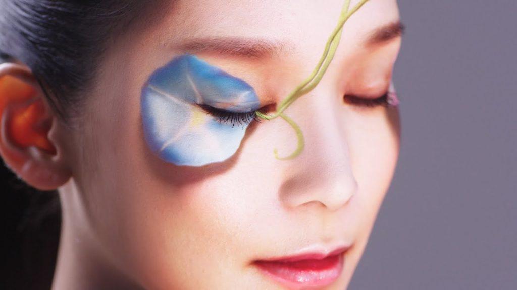 花王 その他 花鳥風月 kacho-fugetsu/ real-time face tracking & projection mapping
