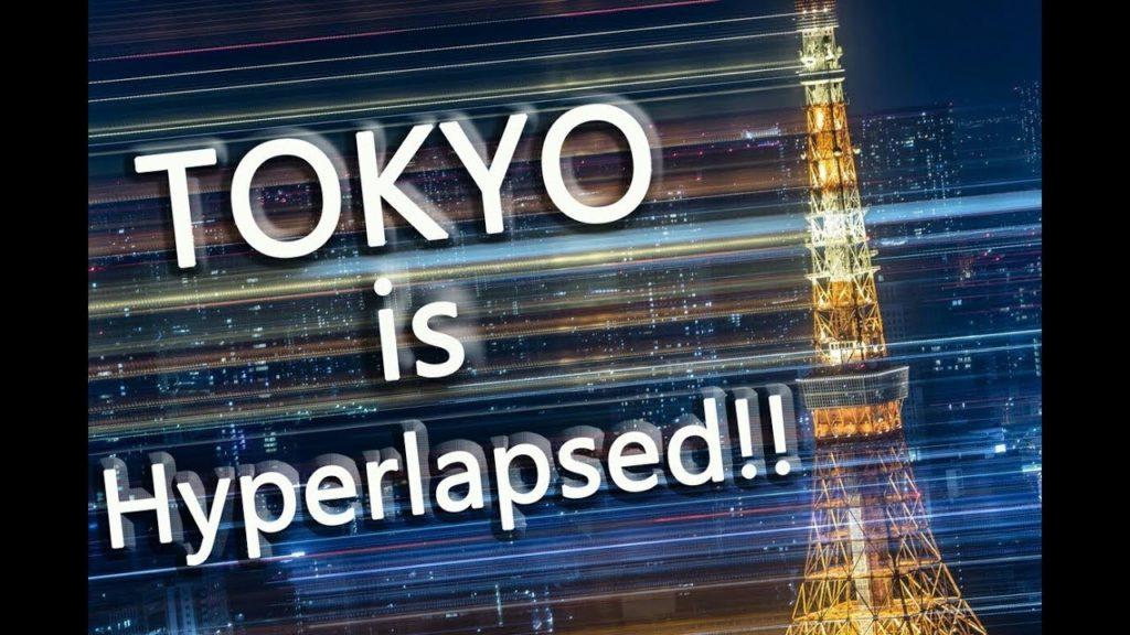Tokyo is Hyperlapsed!! 4K / 東京 Hyperlapse Trip ハイパーラプス タイムラプス Japan