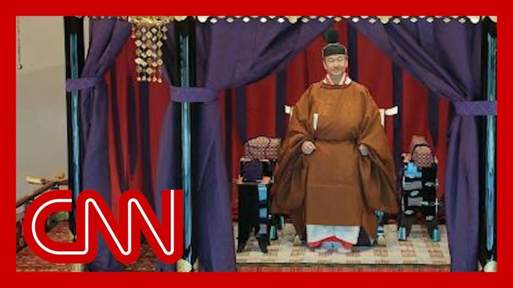 Japan's new emperor formally takes the throne