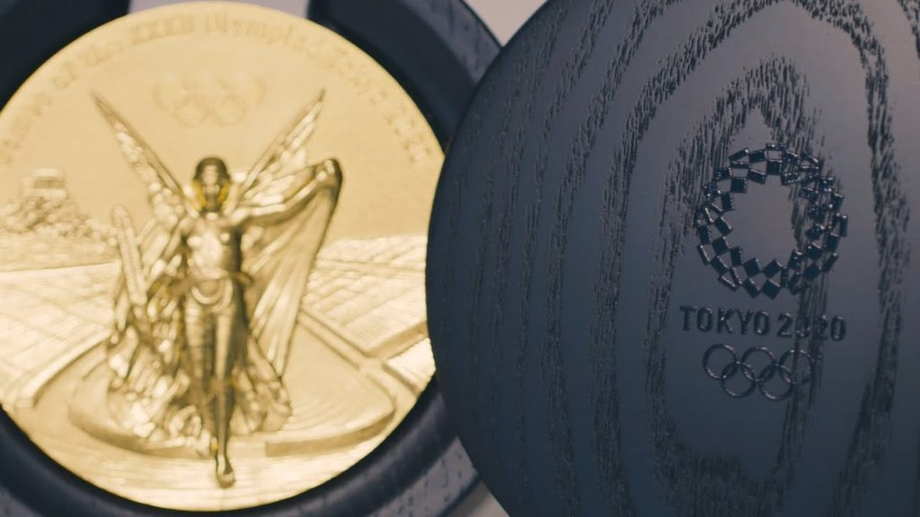 Tokyo 2020 Olympic Medal