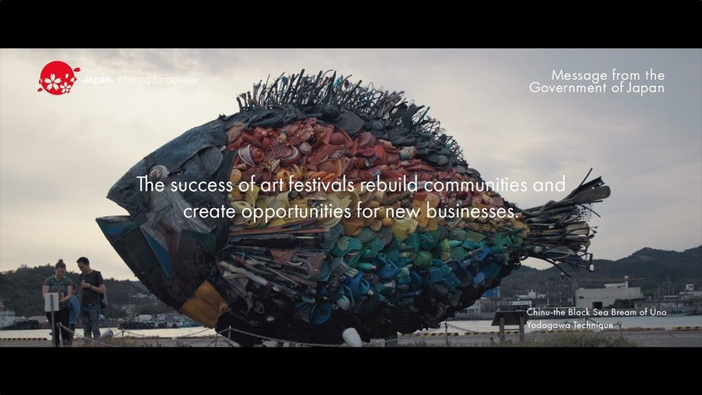 Art Festivals and Regional Revitalization in Japan [Kagawa and Okayama]