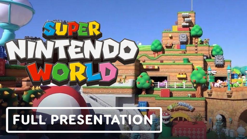 Super Nintendo World – Official Tour with Shigeru Miyamoto