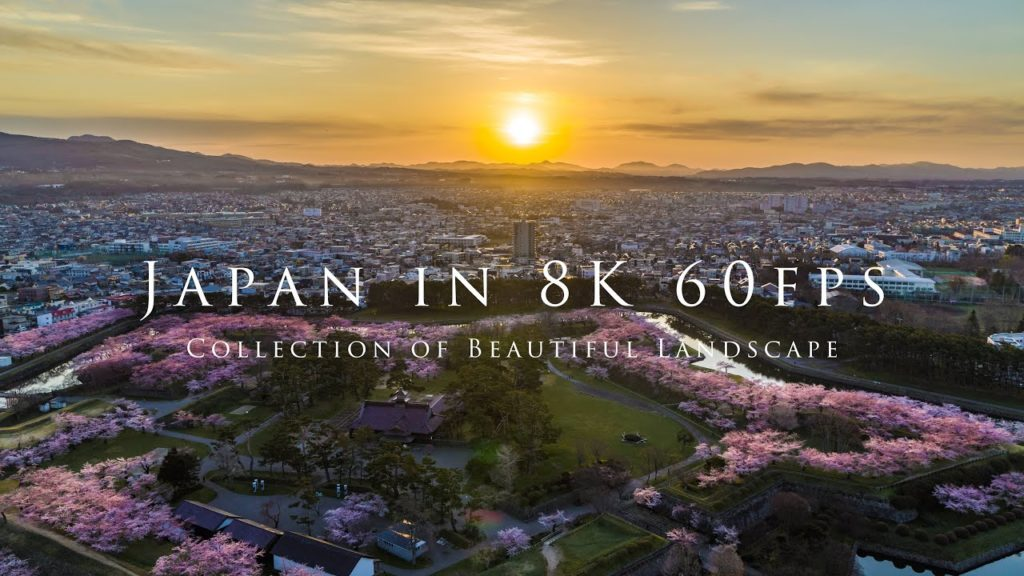 Japan in 8K 60fps – Collection of Beautiful Landscape-